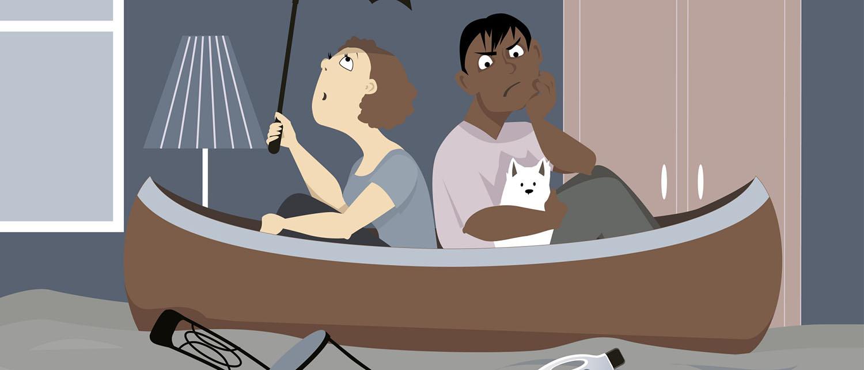 Что делать, если прорвало трубу и вы затопили соседей не по своей вине?